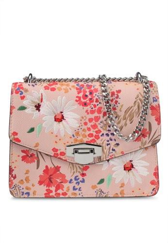Mango pink Floral Print Bag 9DA1CAC2A59139GS_1