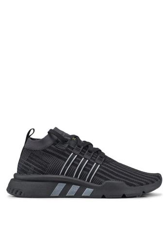 adidas black adidas originals eqt support mid adv pk sneakers D28BCSH100EDF8GS_1