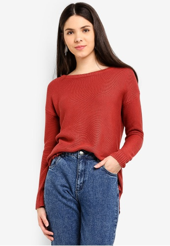 Cotton On red Archy 4 Pullover 628CEAABCD7C85GS_1