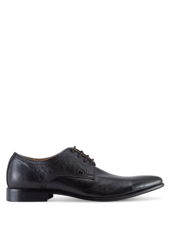 Knight black Faux Leather Formal Shoes KN875SH08OLVMY_1