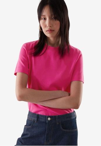 Cos pink Slim-Fit T-Shirt 6CD4AAAE674041GS_1