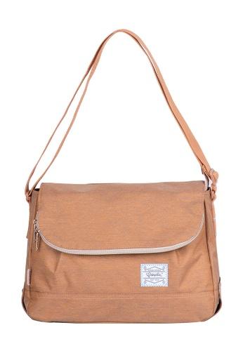 Caterpillar Bags & Travel Gear Essential Vintage Round Shoulder Bag CA540AC10EHHHK_1