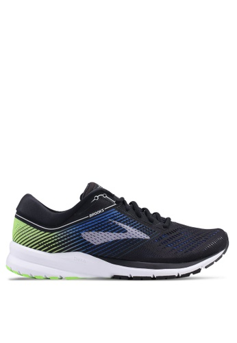 Brooks black Launch 5 Shoes B6845SHE2FC643GS_1