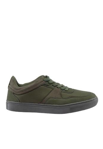 Hush Puppies green Hush Puppies Men's Carlito Casual Sneaker Green 1B574SH8116C10GS_1