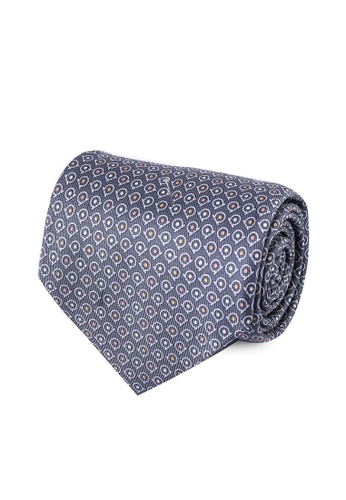 Ferragamo grey Jacquard Tie (oc) BDA30ACBD12E96GS_1