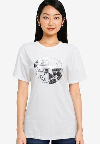 Converse white Chuck Taylor Rivalry Relaxed Tee 4C9CAAABAF3980GS_1