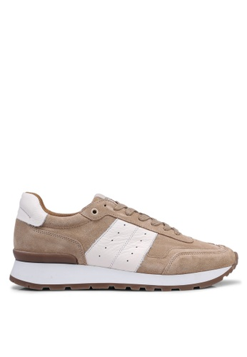 e76abbb67 Shop Selected Homme Frank Mix Runner Sneakers Online on ZALORA Philippines
