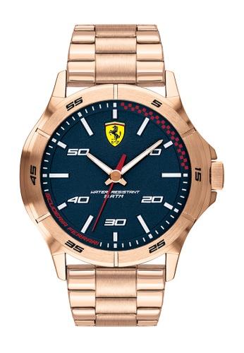 Scuderia Ferrari gold Scuderia Ferrari Sf Basics Rose Gold Men's Watch (830816) C8A70AC9E6C874GS_1