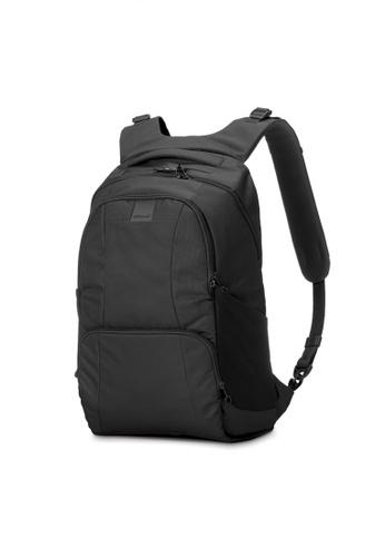 Pacsafe black Pacsafe Metrosafe LS450 25L Anti-Theft Backpack (Black) B82F6AC1F743B3GS_1