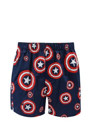 GAP navy Marvel Icon Boxers 28702USEEDB165GS_1