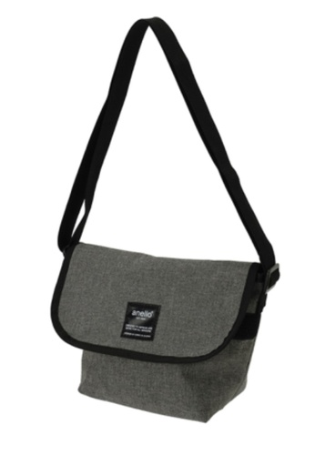 Anello grey ANERO Canvas Mini Envelope-Type Cross-Body Bag-AT-C1227-GY GREY B0751AC529EBEDGS_1