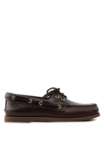 Sperry brown Authentic Original 2-Eye Classic Boat Shoes SP921SH46QKVSG_1