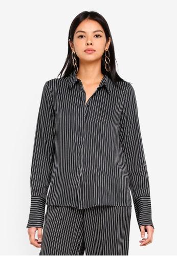 Vero Moda black Nanna Long Sleeve Shirt 80E3FAAAE475B8GS_1