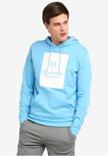 987504b1717 Calvin Klein blue Billboard Hoodie - Calvin Klein Performance  9074EAA720D7D4GS_1