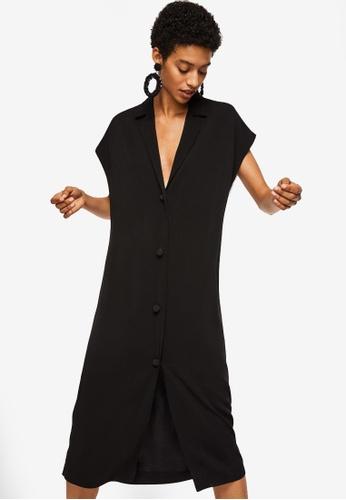 Mango black Back Detail Dress DAF15AAFCC9A16GS_1