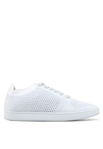 Bata white Weaved Sneakers 3EFACSH3A8FF89GS_1