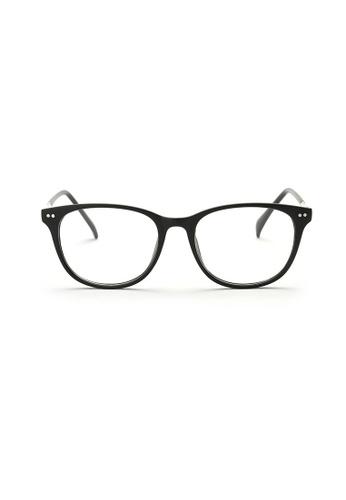 Kyfer's Eyewear & Essentials black and silver Horn Rim Eyewear II (Matt) KY376AC77ZWOSG_1