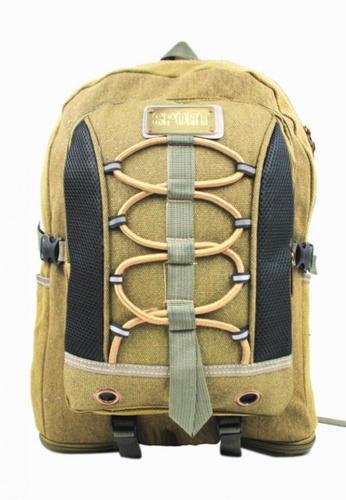 Urban Hikers brown Kean Outdoor Sport Backpack Hiking Trekking Bag UR461AC02VXXPH_1