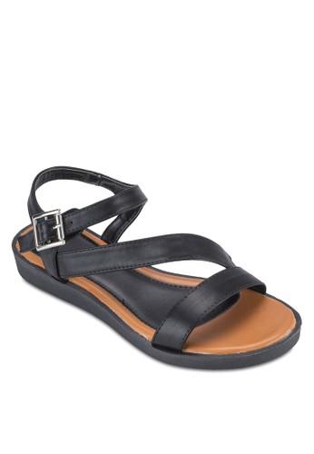 多帶厚底涼鞋, 女尖沙咀 esprit鞋, 鞋