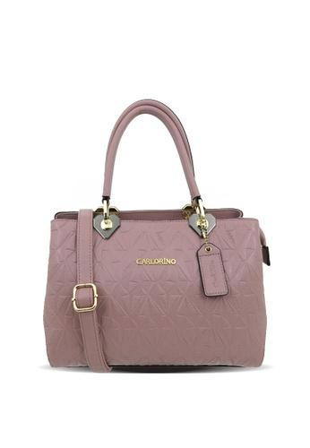 Carlo Rino pink Carlo Rino 0304095-001-24 Top-handle bag CA220AC0S9HGMY_1