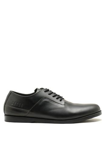 Brodo black BRODO - Sepatu Pria Toba Full Black 204D3SH607FC73GS_1