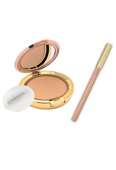 Coverderm Compact Powder with FREE Coverderm Eyeliner