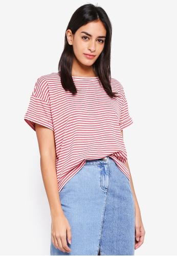 ESPRIT red Short Sleeve T-Shirt D3004AA2D9ABF2GS_1