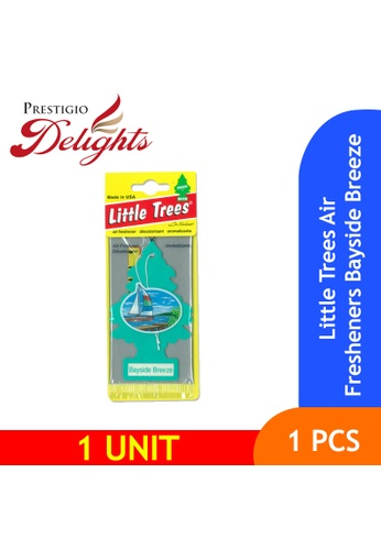 Prestigio Delights blue and multi and navy Little Trees Air Fresheners Bayside Breeze 41CCBES67D21FAGS_1