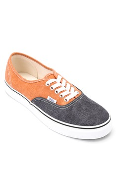 Authentic Washed Two-tone Sneakers