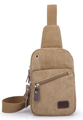 Jackbox XBD Canvas Bag Sling Shoulder Messenger Bag JA762AC12OOTMY_1
