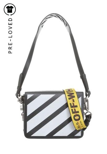 Off-White black off-white Warning Tape Shoulder Bag F5184ACBAD56CDGS_1