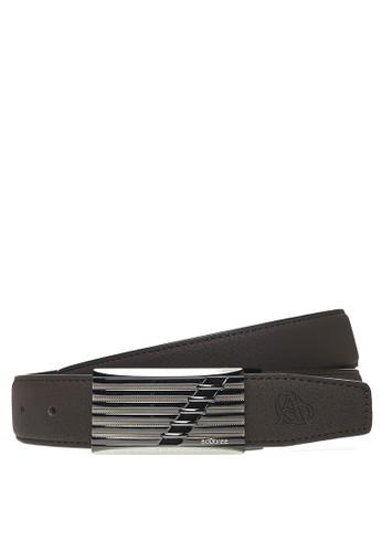 Adobree black Adobree Entisols Col.02 Belt 3.5 P - Black Black DBDE2AC9786C47GS_1