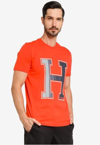Hummel orange Laneway T-Shirt 3F3AFAAD4F54E6GS_1