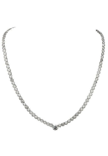 Vivere Rosse silver Lavish Necklace VI014AC79BGQMY_1