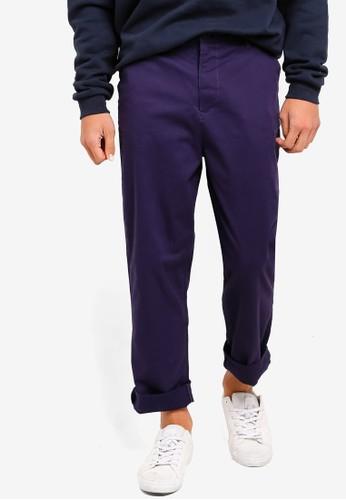 Factorie navy Straight Leg Pants D4703AA2409906GS_1