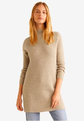 Mango brown Turtleneck Sweater DFA37AA9806687GS_1