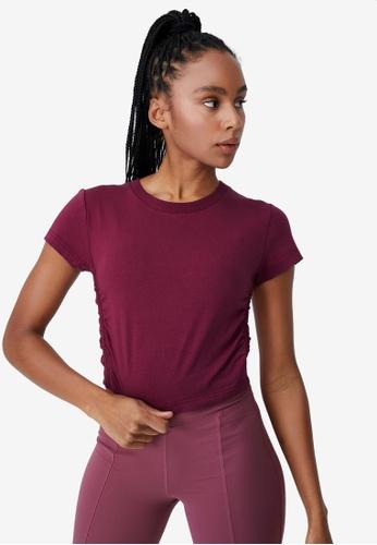 Cotton On Body pink Side Gathered T-Shirt 5DE2BAA0FC7365GS_1