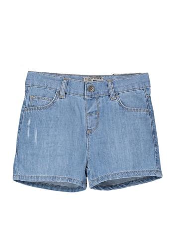 LC Waikiki blue Baby Boy Jean Shorts 42552KA7A8DC3AGS_1