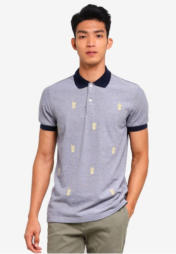 Buy Brooks Brothers Red Fleece Pineapple Polo Shirt Online On Zalora