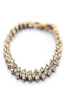 Elegant Faux Stone Bracelet