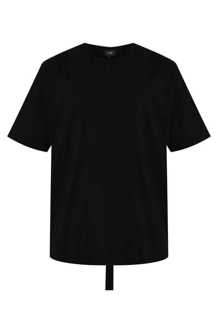 Box Cut Tails Taping IMP Black Flesh T Shirt 5UZS6