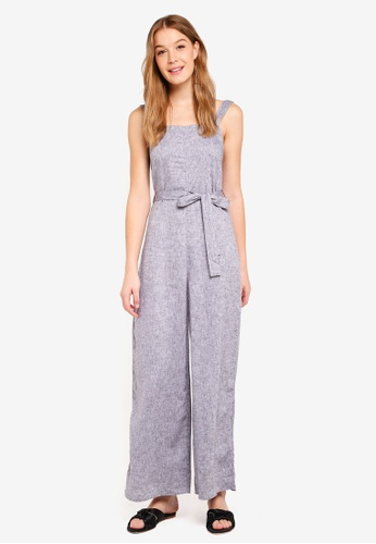 Supre grey Charlie Jumpsuit D8348AA2ACB3F3GS_1