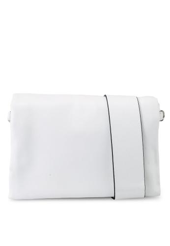 Keddo white Ruza Sling Bag 598B2AC4FC8633GS_1