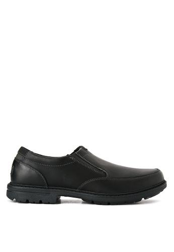 Rockport black Tough Bucks Slip On Formal Shoes RO474SH0IMFQPH_1