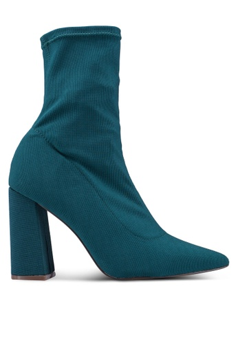 28be5f34407a2 Shop NA-KD Slanted Heel Sock Boots Online on ZALORA Philippines