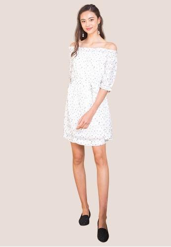 L'zzie white LZZIE ELLEN TWO-WAY DRESS - WHITE 1FF47AA83D2C1EGS_1