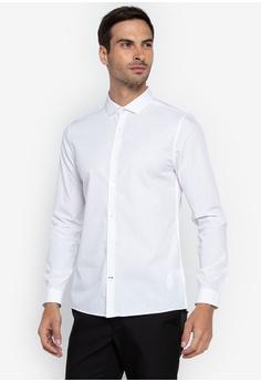 050ac68f8e Burton Menswear London white White Skinny Fit Easy Iron Shirt  56965AA6A52C19GS 1
