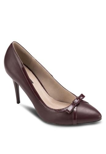 基本款蝴蝶結尖頭高跟鞋zalora 折扣碼, 女鞋, 厚底高跟鞋
