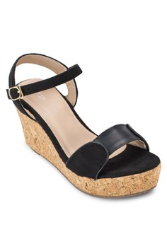 Platform Wedges with Ankle Strap