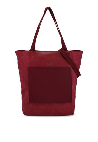 ELLE red Esme Shopper Bag F956EACCB039FCGS_1